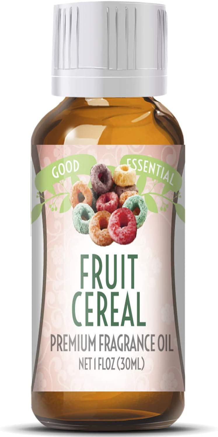 Fruit Cereal Scented Oil by Good Essential (Huge 1oz Bottle - Premium Grade Fragrance Oil) - Perfect for Aromatherapy, Soaps, Candles, Slime, Lotions, and More!