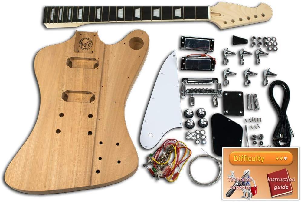 Kit de guitarra DiY – Gibson Firebird, Black Blackwood: Amazon.es: Instrumentos musicales