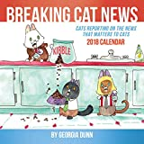 Breaking Cat News 2018 Wall Calendar