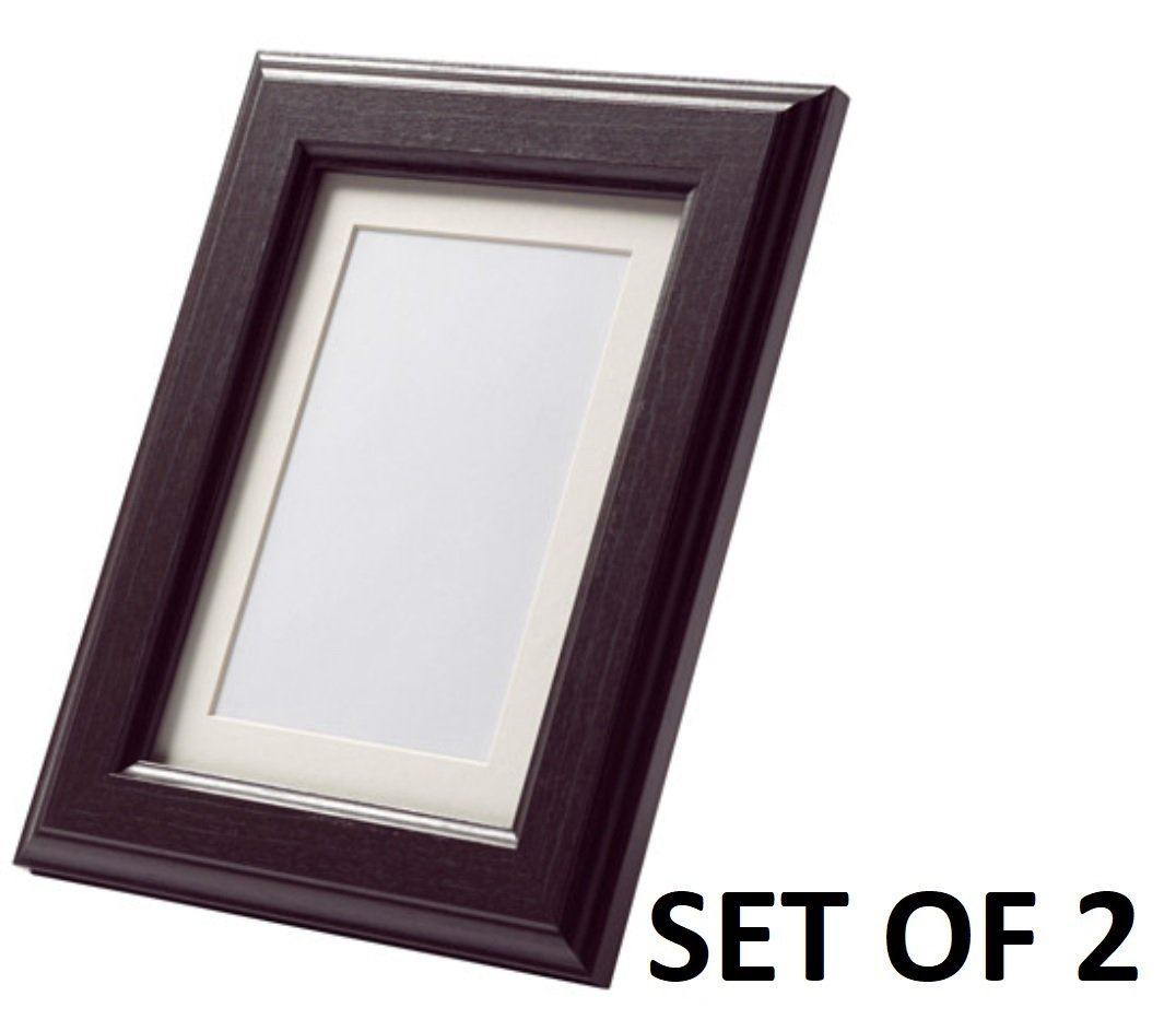 Amazon.com - Ikea Virserum 8 X 10 Picture Frame (4, Dark Brown) -