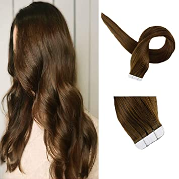 Tape extensions very short hair
