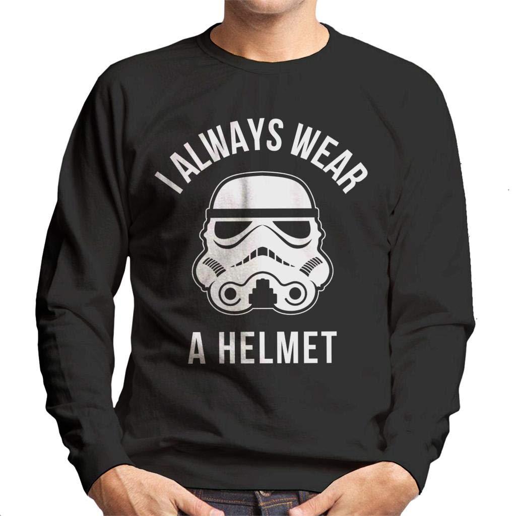 Original Stormtrooper I Always Wear A Helmet Mens Sweatshirt: Amazon.es: Ropa y accesorios