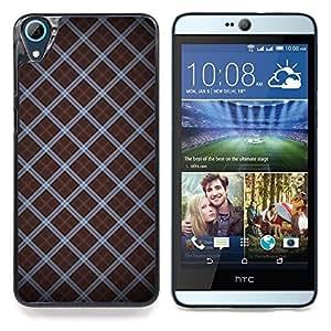 """Planetar ( Modelo del papel pintado azar Diseño Rayas"""" ) HTC Desire 826 Fundas Cover Cubre Hard Case Cover"""