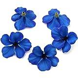 YUDX121 100pcs/lot Spring Silk Orchid Artificial Flower Heads Gladiolus Cymbidium Flowers for Wedding Decoration (Royal…