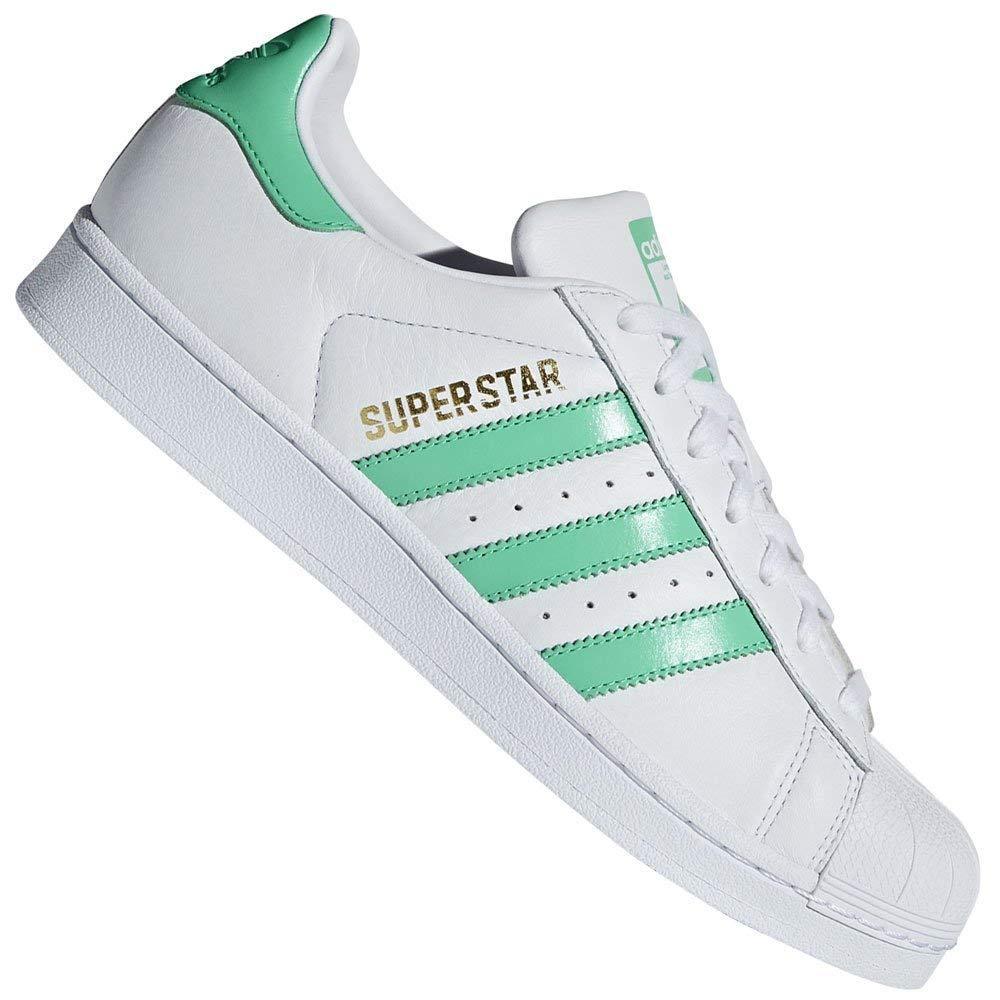c6f1162ee64 Galleon - Adidas Originals Superstar Shoes 9.5 B(M) US Women   8.5 D(M) US  Ftwwht hiregr Goldmt