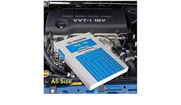 Toyota 1 kz-te libro Auto Motor Reparación Servicio Manual Hilux Surf tierra: Amazon.es: Coche y moto