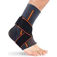 ToGames-MX Foot Orthosis Stabilizer Ankle Brace Support Elastic Sport Ankle Support Comfortable Nylon Protecting Sports Ankle Equipment