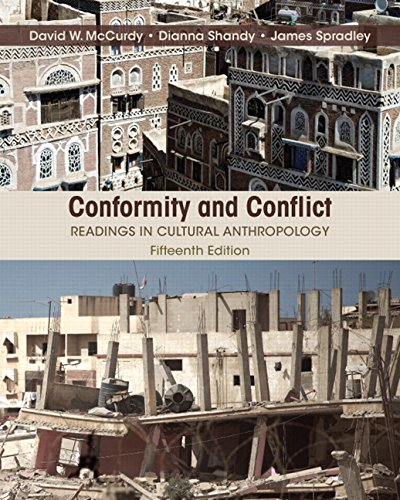 Book cover from Conformity and Conflict: Readings in Cultural Anthropology (15th Edition)by James W. Spradley Late