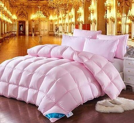 Piumone Sintetico Matrimoniale.Piumino Sintetico Matrimoniale Twin Queen King Size Bianco Rosa