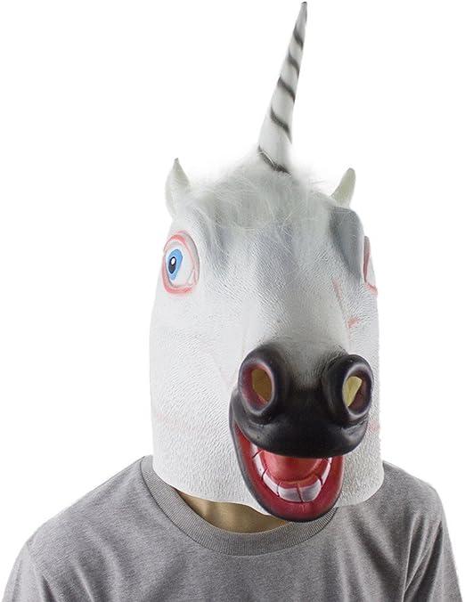 Aminal máscara ❤ Luca ❤ látex ovejas feliz perro unicornio ...