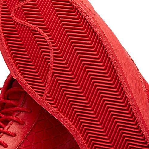 Nike Blazer Mid Qs Mens Metriche Hi Scarpe 744419 Scarpe Da Tennis Universitario Rosso, Rosso Università