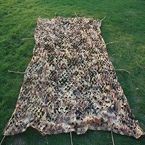 Zbm-zbm Tarnnetze Tarnnetz Sonnenschutz Netze for Sonnenschutz Camping Militär-Jagd-Schießen Blinde Zusehen Verstecken Partydekoration Sonnensegel Sonnensegel