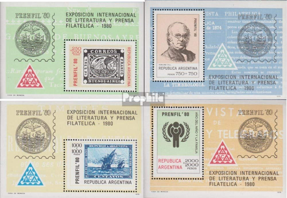 Prophila Collection Argentina Michel.-No..: Bloque 22-Bloque 25 ...