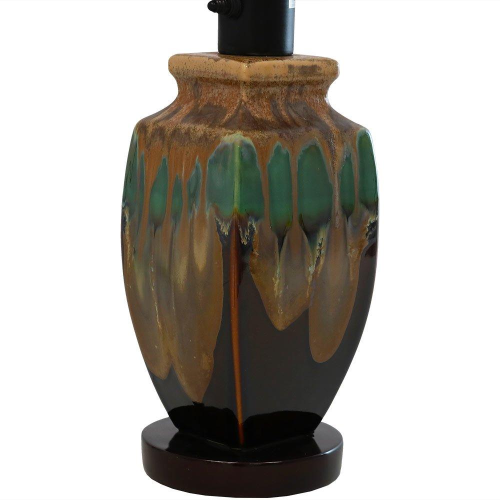 Sunnydaze Indoor Multi-Colored Ceramic Table Lamp, 23 Inch by Sunnydaze Decor (Image #5)