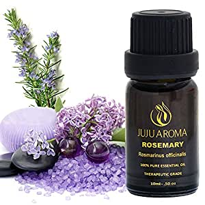 Rosemary Essential Oil - 100% Pure, Natural and Therapeutic Grade - 10ml – By JuJu Aroma