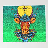 Society6 Holy Cow! Lotus. Throw Blankets 88'' x 104'' Blanket