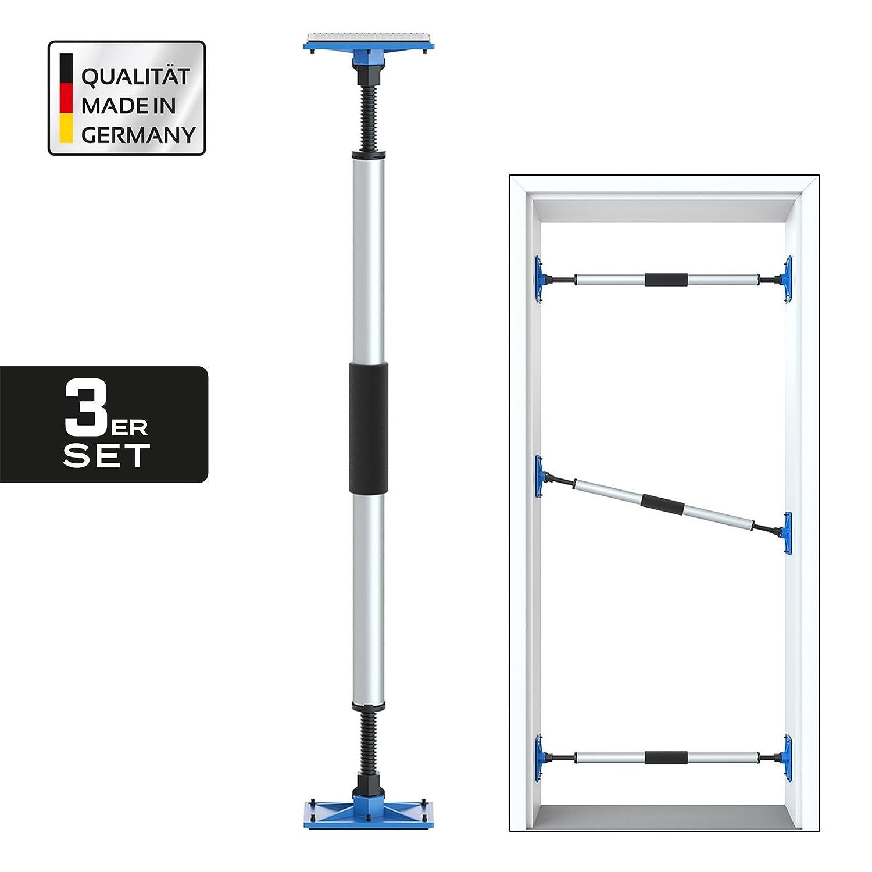 3er Set PROFI Türspanner Türfutterstrebe Türmontagehilfe ...