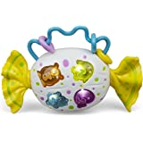 Baby Candy Shaped Musical Toy With Numbers And Lullaby Songs And Silly Laughter Sounds Twist Sounds And Rattles For Little Toddlers