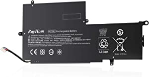 RayHom Replacement PK03XL Notebook Battery - for HP Spectre 13 Pro X360 G1 G2 Spectre 13-4000 13-4100 13-4200 13-4000nf 13-4006tu 4101dx 13-4103dx 13-4002dx 13-4003dx 789116-005 788237-2C1 TPN-Q157