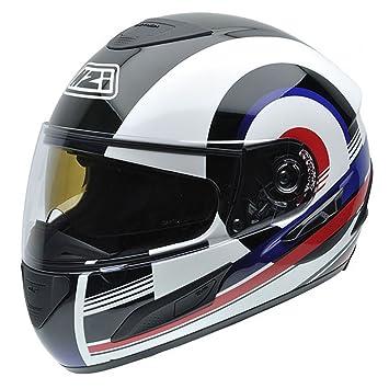 NZI 050250G210 Cursus II BNA Casco de Moto, Talla S