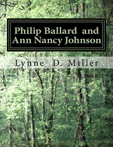Philip Ballard and Ann Nancy Johnson