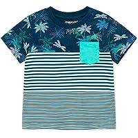 Mayoral Camiseta m/c Bloques Bebe niño Azul 6-36 Meses