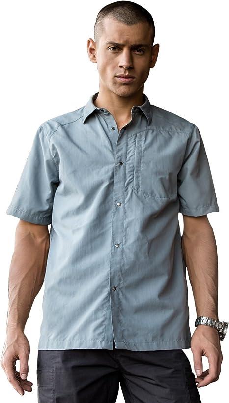 FREE SOLDIER Camisa táctica de Manga Corta para Hombre, Transpirable, de Secado rápido: Amazon.es: Deportes y aire libre