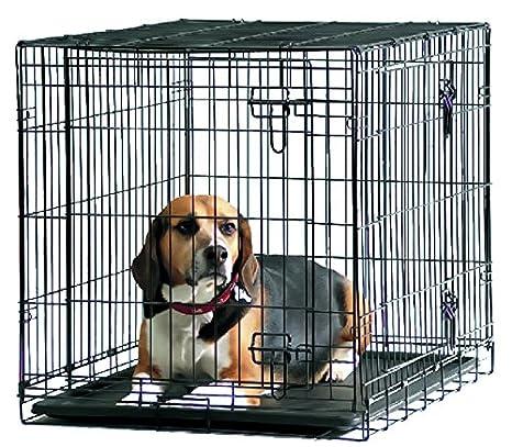 SAVIC Dog Cottage - Caja para perro (91 x 57 x 62 cm), color negro ...