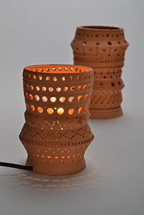 Merveilleux Clay Table Lamp