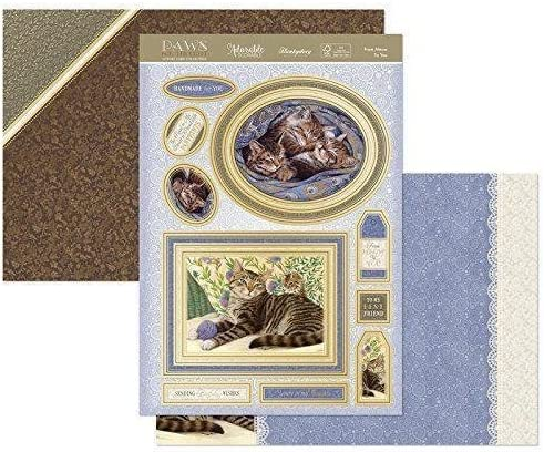 Hunkydory an Artists Garden Paws for Thought Luxury Topper Set
