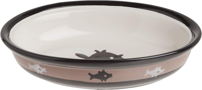 porcelain 18 ounce oval bowl Cats