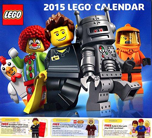LEGO 2015 Lego Calendar (Target Wall Calendar compare prices)