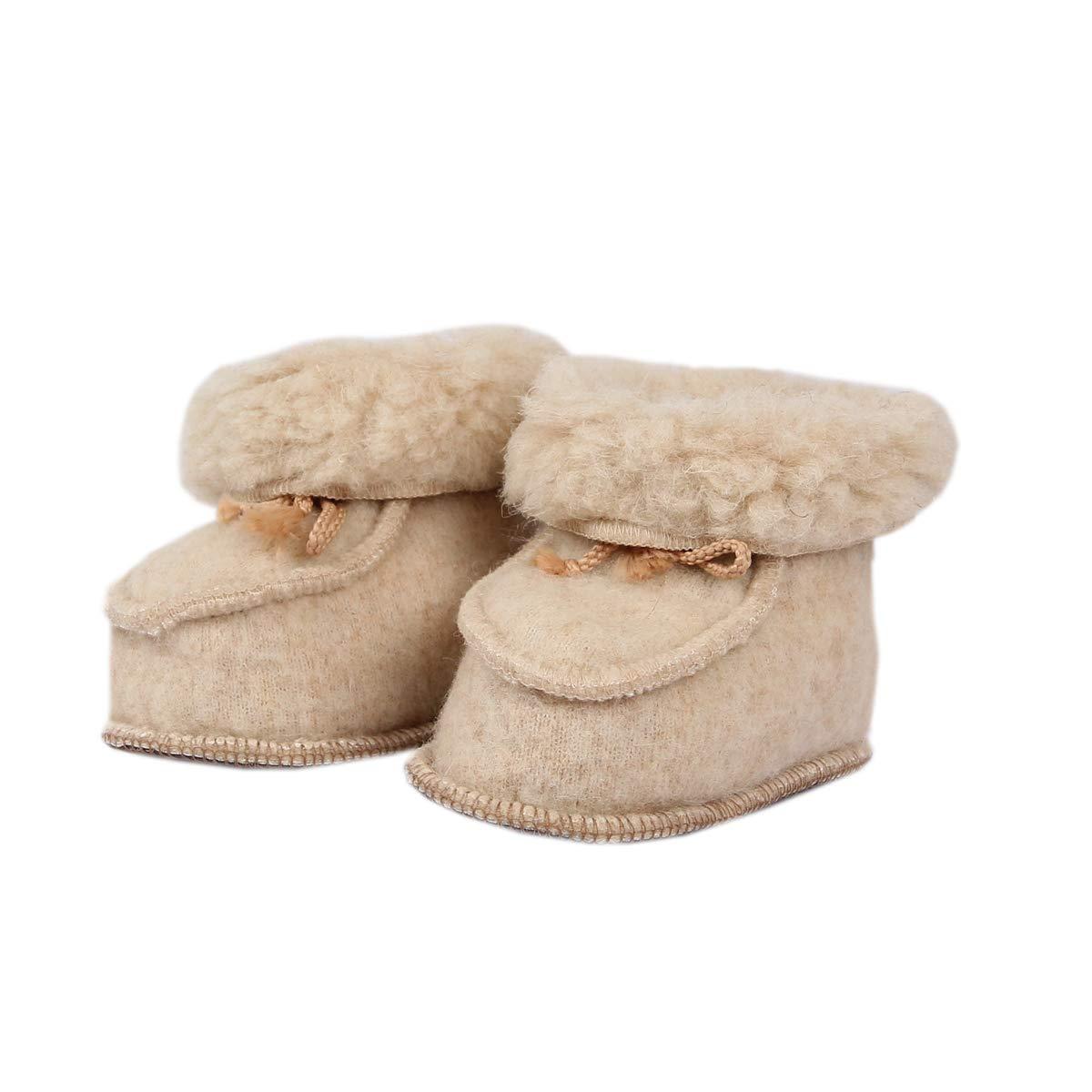 100/% Merino wool baby booties newborn sheep wool organic slippers leg warmers