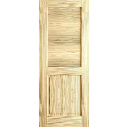Louver Panel Door, Kimberly Bay Interior Slab Clear 80 In. X 32 In.