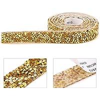 Yusat Diamantlint, zelfklevende kristallen lint strass stickers voor bruiloft verjaardag decoraties DIY decoratieve…