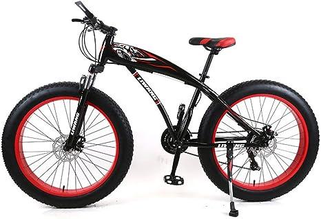 SIER Bicicleta de montaña de 24 Pulgadas Moto de Nieve Ancho ...