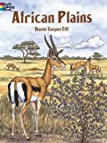 img - for (AFRICAN PLAINS COLORING BOOK) BY Gaspas-Ettl, Dianne(Author)Paperback on (08 , 1996) book / textbook / text book