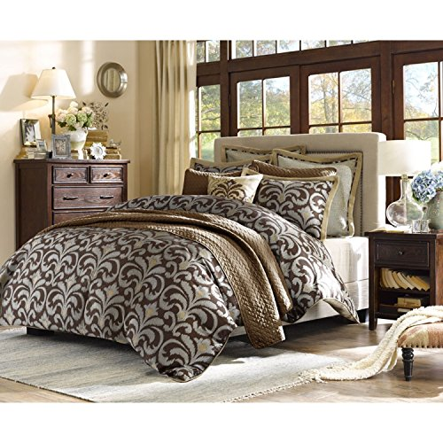 - Hampton Hill Kingsley Comforter Set Full/Queen Multi, Multicolor