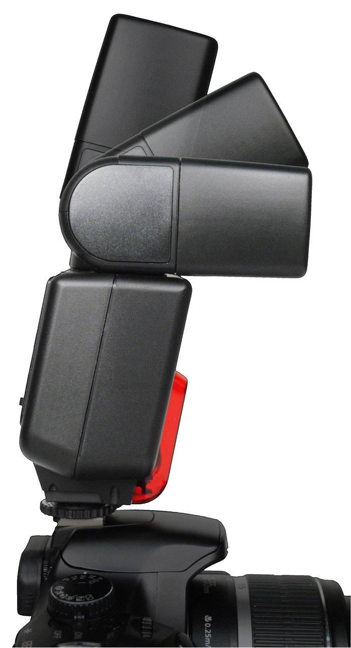 Bower SFD35N Digital Autofocus Flash for Nikon D2X/200/3X/40X/50/60/70/80/90/5000/5100/700/7000, Digital SLR Cameras by BOWER