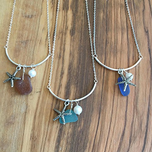 Sea Glass, Add a Bead Necklace