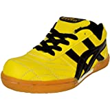 Livia Sports Roewe LR-2021 Badminton Shoes Light Weight & Comfortable Unisex Shoes For ( Men, Boys, Women, Girls & Junior ) PU Material Non Marking Sole Outdoor Indoor Playing - Best in Badminton Shoes, Volleyball Shoes, Baseball Shoes, Use For Nursing Training, Walking, Running, Jogging, Cycling, Gymnastic, Sports Shoes