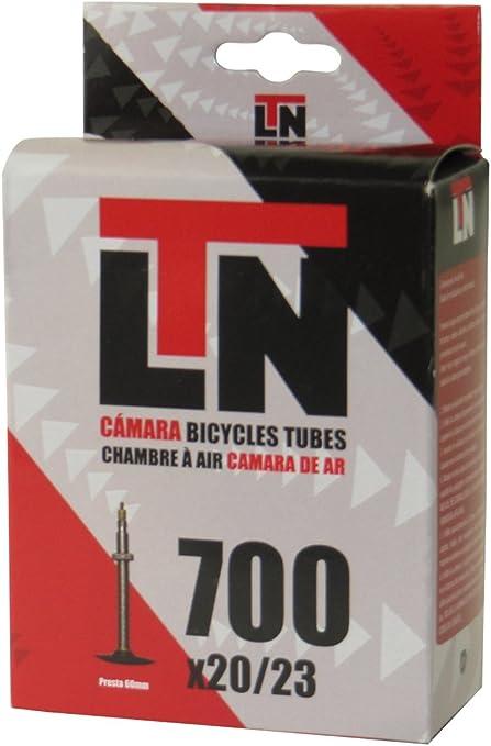 ELTIN Camara LTN 700X20/23 V. Presta 60 MM Ciclismo, Negro, Talla ...