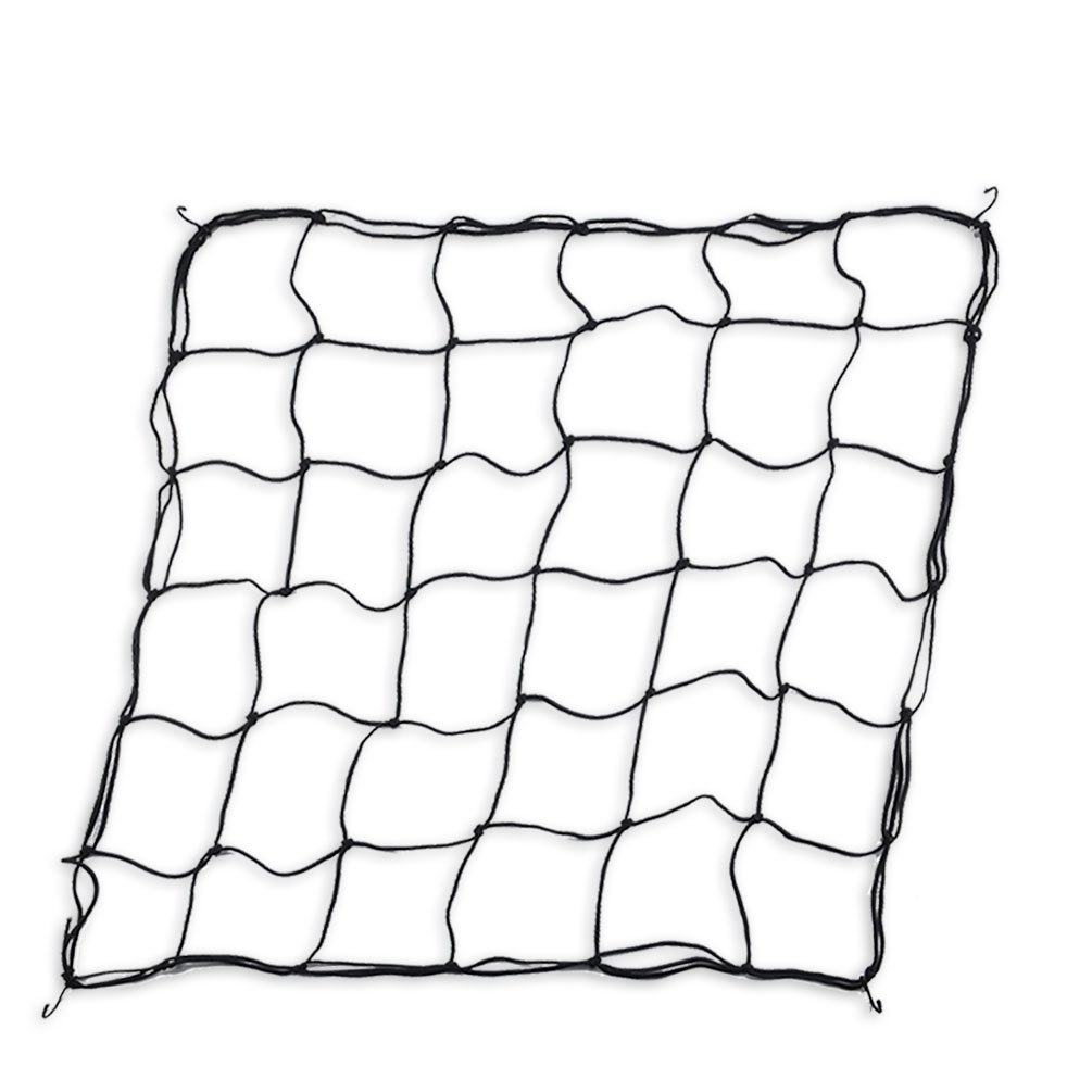 Accurato Flexible Scrog Net Trellis for Grow Tents Fits 4x4 and more w/ 4 Steel Hooks