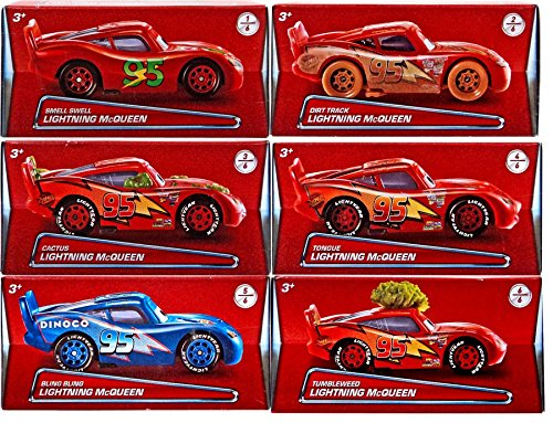 Disney/Pixar CARS 3 - Details & Downloadable Activity Sheets #Cars3 - Disney/Pixar Cars 2017 Exclusive Lightning McQueen Die-Cast Car Bundle of 6