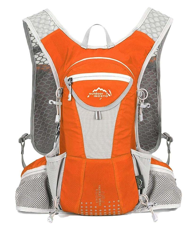 グレー緊張ブームTRIWONDER ハイドレーションパック バックパック 5L マラソン ナーランニング ハイドレーション ベスト