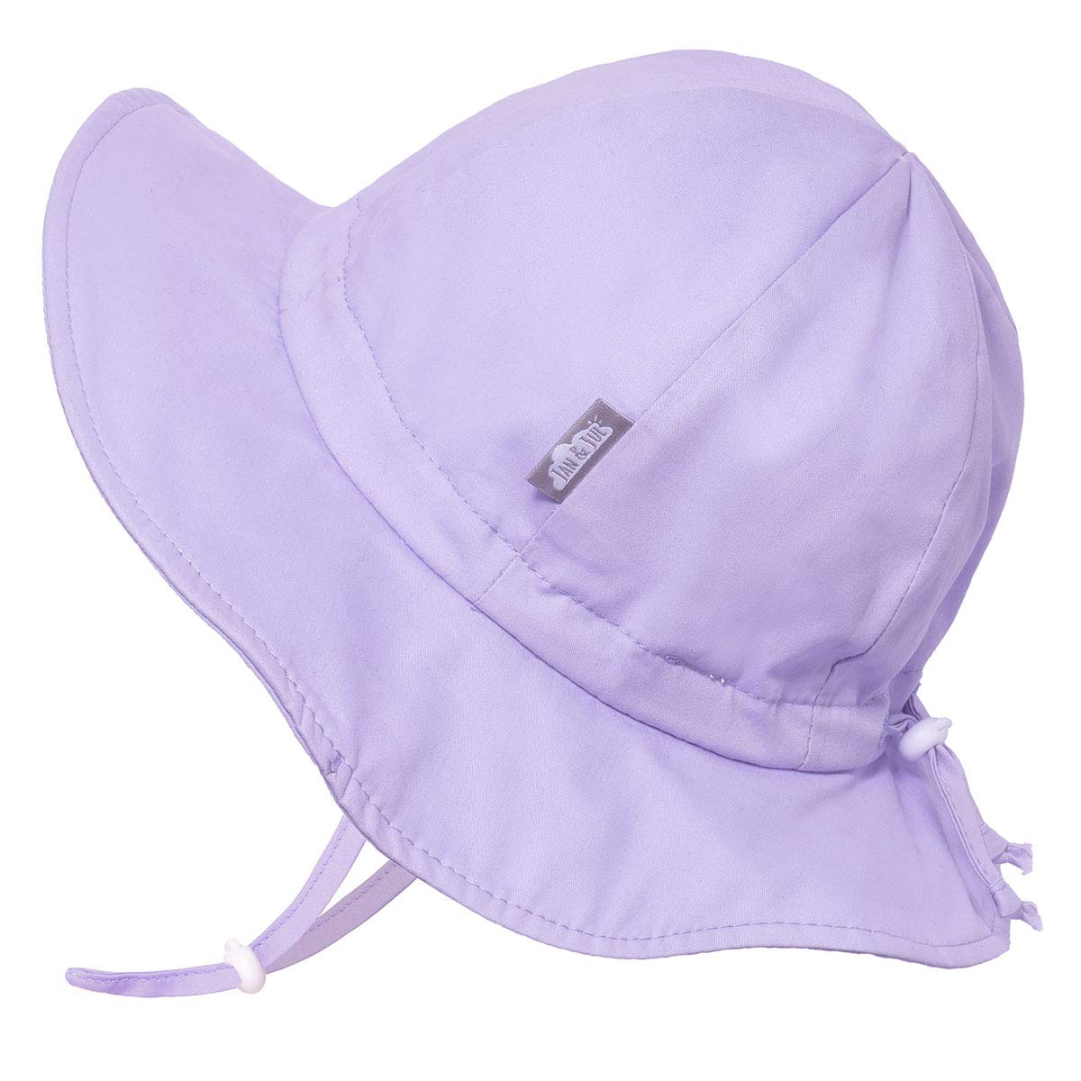 XL: 5-12Y, Lavender Size Adjustable Stay-on Tie Jan /& Jul Girls Breathable Sun-Hat 50 UPF