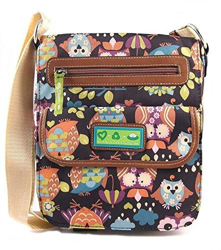 Lily Bloom Tablet Smartphone Crossbody Bag What a Hoot