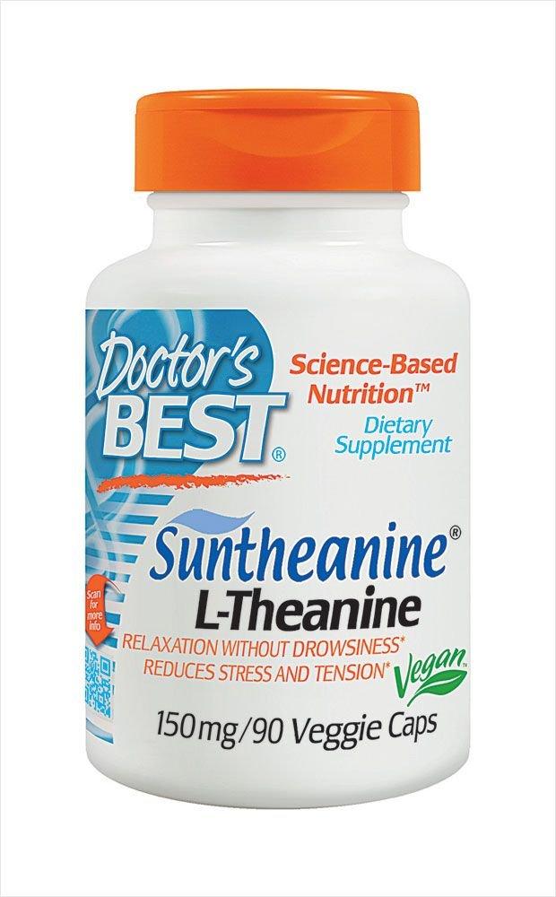 Doctors Best - Magnesio de Suntheanine 150 L-Theanine. - 90 cápsulas vegetarianas: Amazon.es: Salud y cuidado personal
