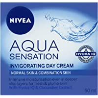 NIVEA Aqua Sensation Moisturising Day Cream, 50ml