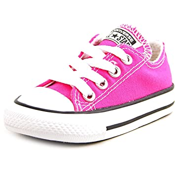 d4773857b5bd Image Unavailable. Image not available for. Color  Hot pink Infant Converse